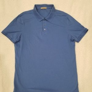 BURBERRY BRIT Blue Mens Polo Shirt 100% Cotton